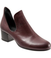 women's bueno mick bootie, size 6.5-7us - red