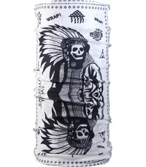bandana multifuncional indio nativo blanco wild wrap