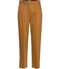 judith pantalon met rechte pijpen bruin dagmar