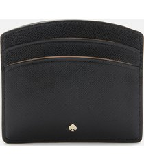 kate spade new york women's spencer card holder - black