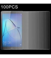 100 pcs para huawei mediapad t3 7.0 pulgadas pantalla completa 0.3mm 9h la dureza de la superficie de vidrio templado vidrio protector de pantalla