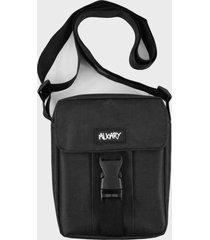 mini shoulder bag alkary fivela preta - preto - dafiti