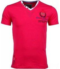 t-shirt korte mouw david copper korte mouwen riviera club