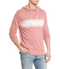 men's faherty surf stripe slub hoodie