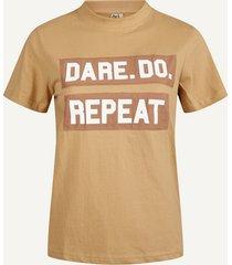 desires shirt / top bruin de2089
