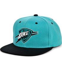 mitchell & ness oklahoma city thunder minted snapback cap