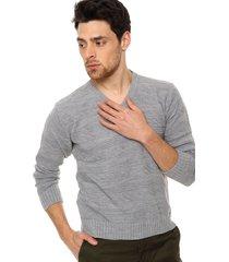 sweater gris perla moni tricot