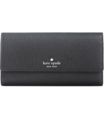 kate spade new york southport avenue sandra flap wallet
