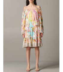 blumarine dress blumarine printed dress