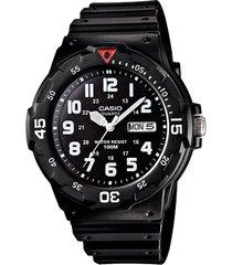 reloj casio mrw-200h-1bv  resina hombre