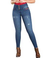 jeans colombiano push up urano azul  tyt jeans