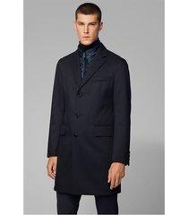 abrigo formal slim fit navy boss