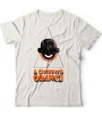 camiseta laranja mecã¢nica off-white - off-white - algodã£o - dafiti