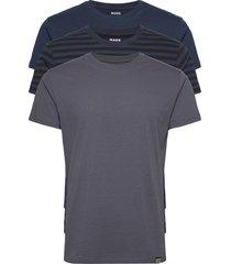 favorite thor 3 pack t-shirts short-sleeved blauw mads nørgaard