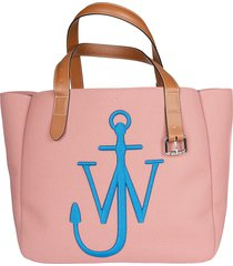 j.w. anderson embroidered logo tote