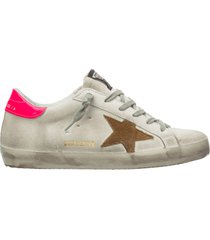 scarpe sneakers donna camoscio superstar