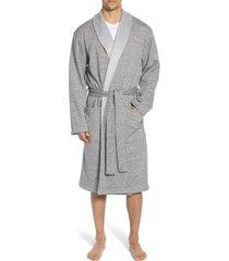 men's ugg robinson robe, size large/x-large - grey
