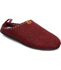 dnt toffel slippers tofflor röd viking