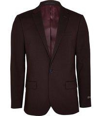 river island mens dark red slim fit suit jacket