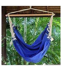 cotton hammock swing, 'copacabana' (brazil)