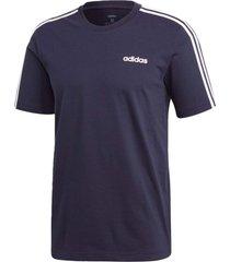 camiseta adidas e 3s azul - azul - masculino - dafiti