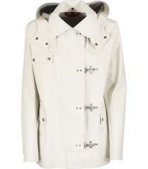 fay 4 ganci cream jacket