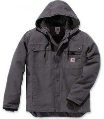 carhartt jas men bartlett jacket gravel-m