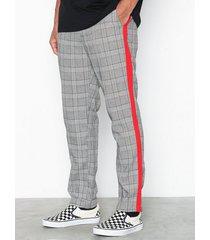 sixth june pants with bands byxor grå/röd