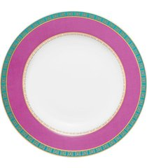 conjunto de 6 pratos fundos 23,5cm flamingo joia brasileira - multicolorido - dafiti
