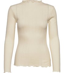 pointella trutte t-shirts & tops long-sleeved crème mads nørgaard