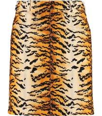 philosophy di lorenzo serafini printed cotton skirt