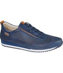 skor pikolinos marinblå
