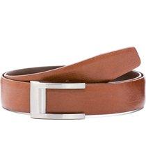 cinturón marrón prototype milano