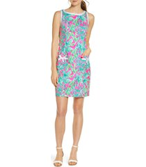 women's lilly pulitzer kathleen stretch shift dress
