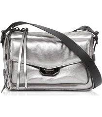 rag & bone designer handbags, aluminum small field messenger bag