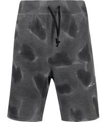 1017 alyx 9sm abstract print shorts - grey