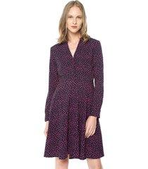 vestido morado-fucsia vero moda
