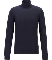 boss men's musso-p turtleneck sweater