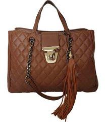 bolsa bag dreams satchel catarina marrom