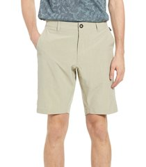 men's 7 diamonds aeroplane slim fit hybrid shorts, size 29 - beige