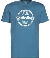 t-shirt korte mouw quiksilver words remain