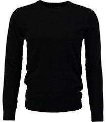 antony morato zachte zwarte slim fit trui katoen cashmere valt kleiner