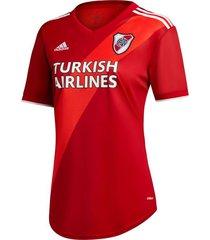 camiseta roja adidas alternativa river plate 2021