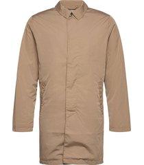 slhfelix coat w ex trenchcoat lange jas bruin selected homme