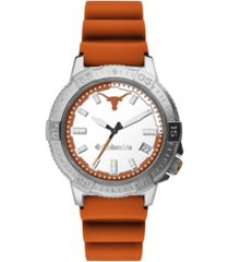 columbia men's peak patrol texas silicone strap watch 45mm