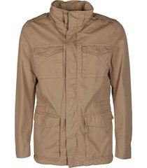 beige cotton sport jacket