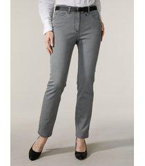 jeans mona grijs