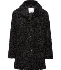natja jacket 11105 outerwear faux fur zwart samsøe samsøe