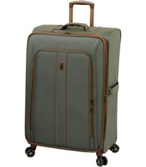 "london fog newcastle softside 28"" spinner suitcase"