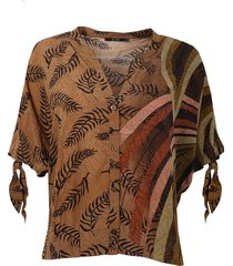 10 feet blouse 870002 bruin